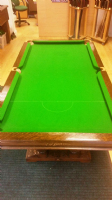 E-J Riley Solid Oak 5ft Snooker / Dining Table